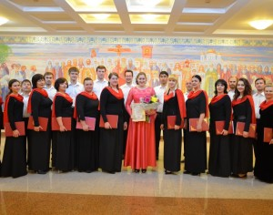 В Самаре состоялся первый межрегиональный фестиваль духовных песнопений «Пасха над Волгой»